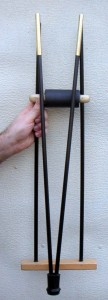 Fig 2: Crutch folded